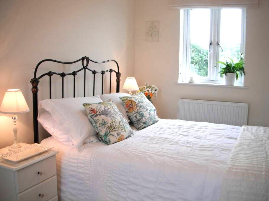 Light and airy double bedroom in West Cornwall - Connor Downs