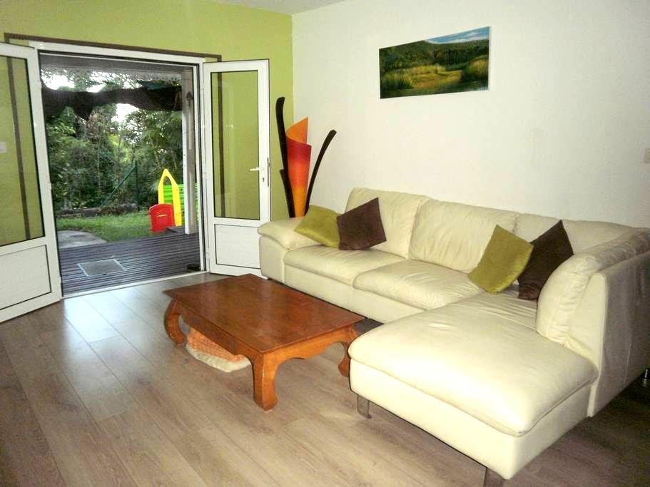 Chambre double dans maison - Sainte-Clotilde - บ้าน