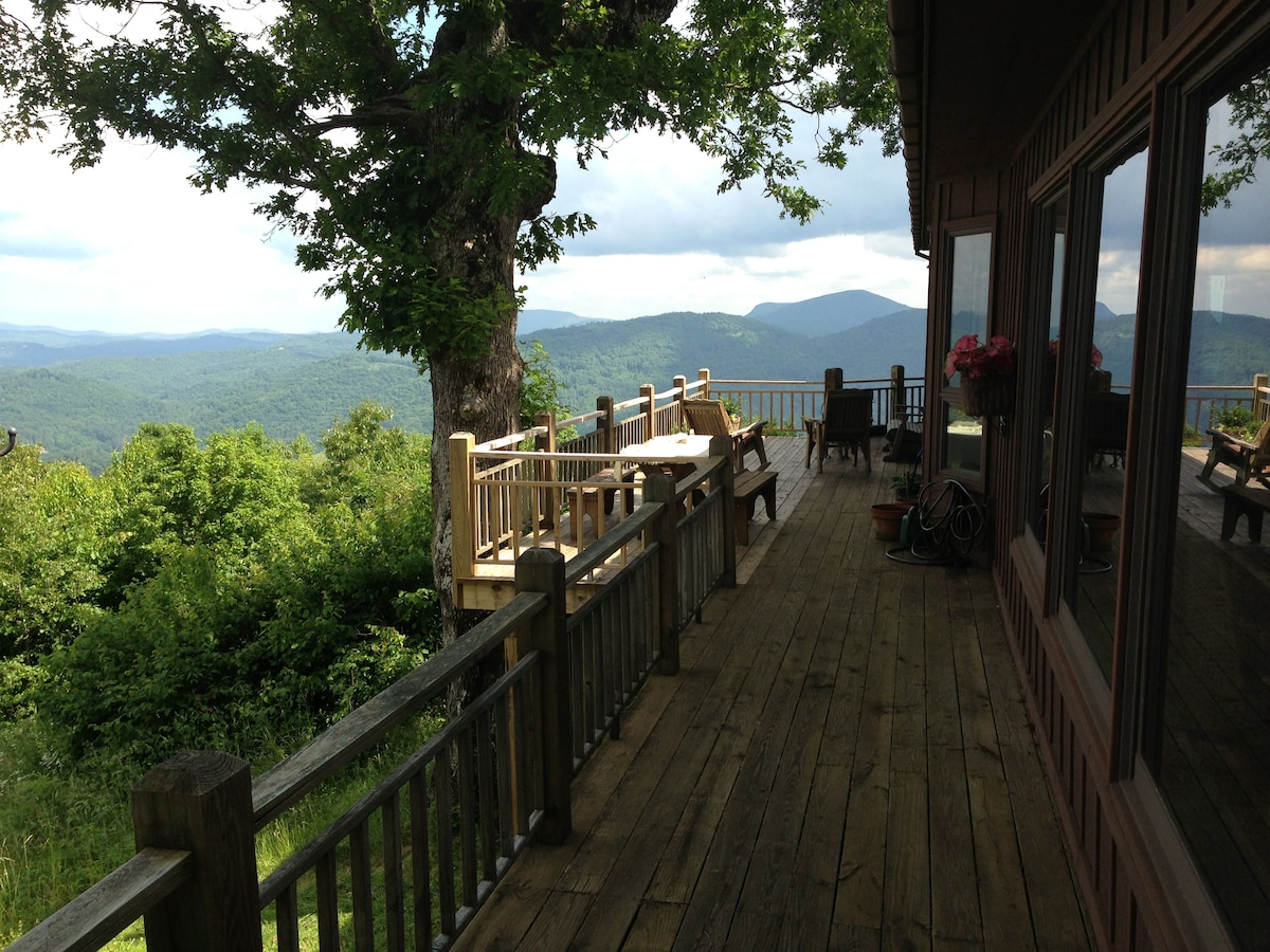 Top of the mountain Cashiers NC