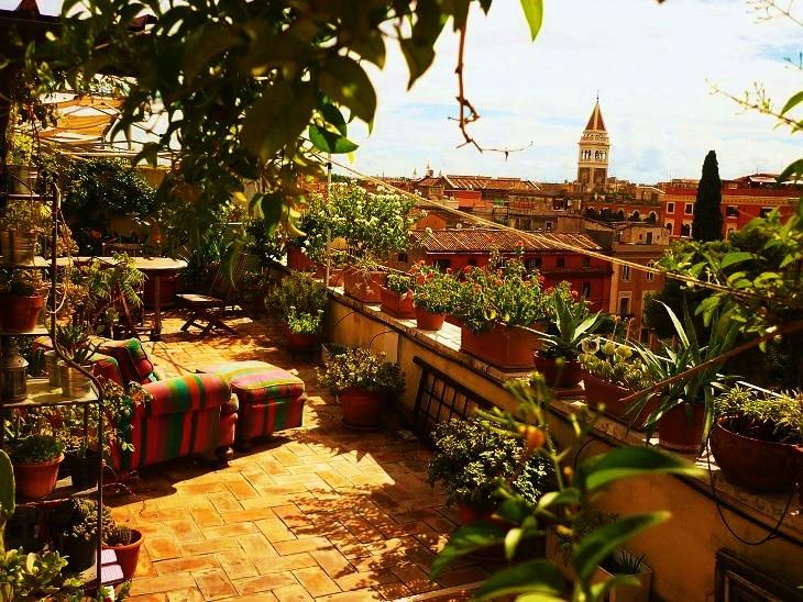 Roofgarden Rome, Termini Station