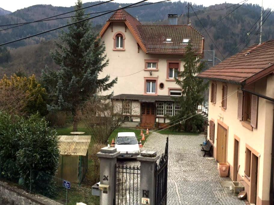 BelAppartement dominant 6/8pers max 2èm étage wifi - Saint-Amarin - Huis