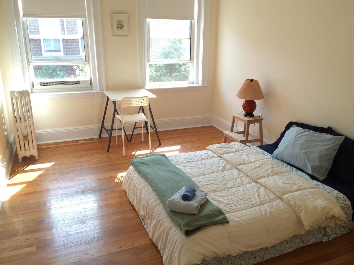Relaxing Private Room in Harvard Sq