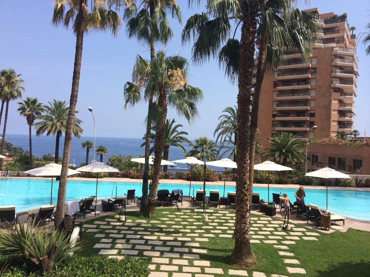 Luxurious apt in Monaco  with pool