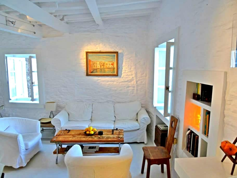 Melina Holiday Home  Stone-built Cottage - Lefkes - Rumah