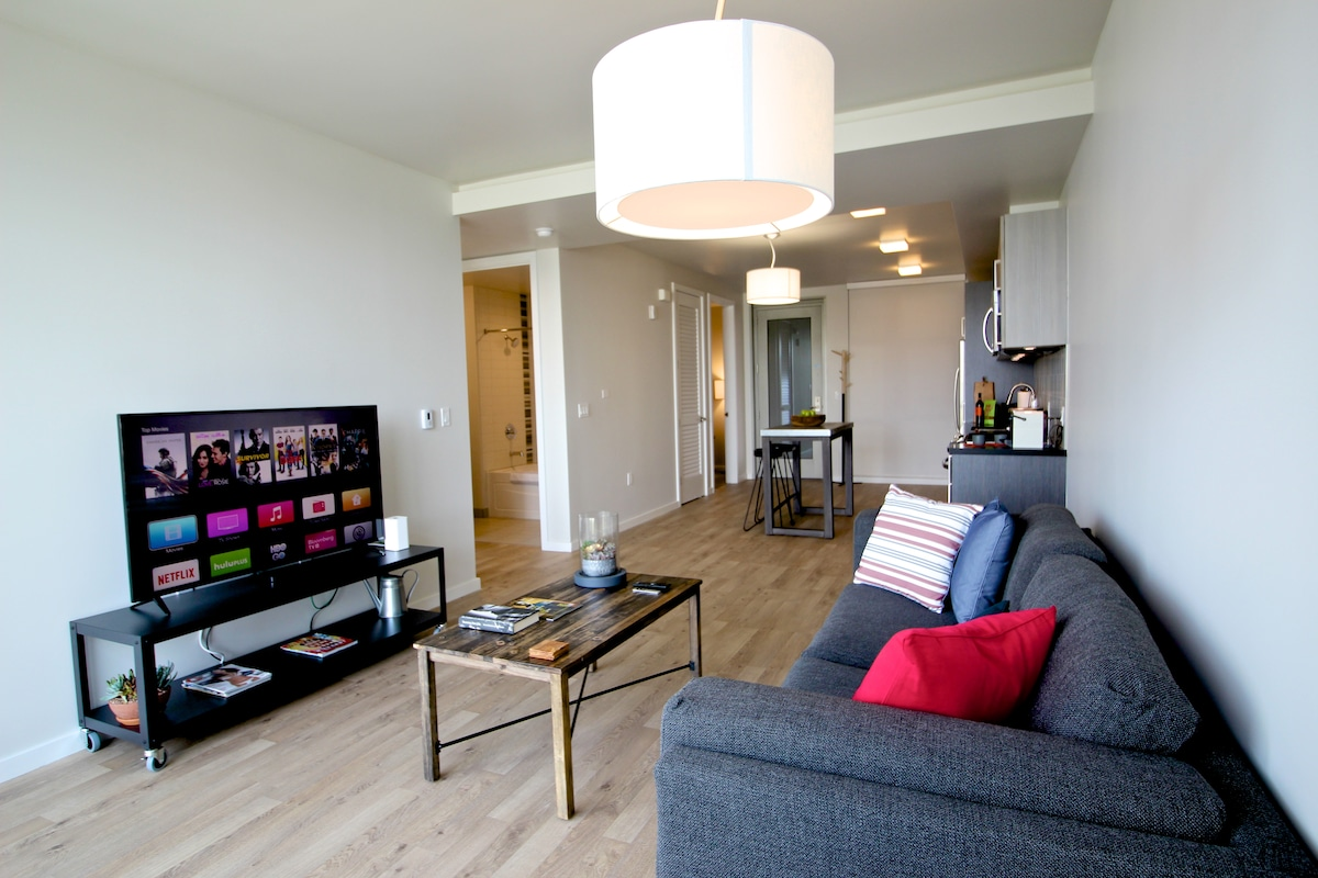 Modern & Fresh 2BR, Mission Dolores