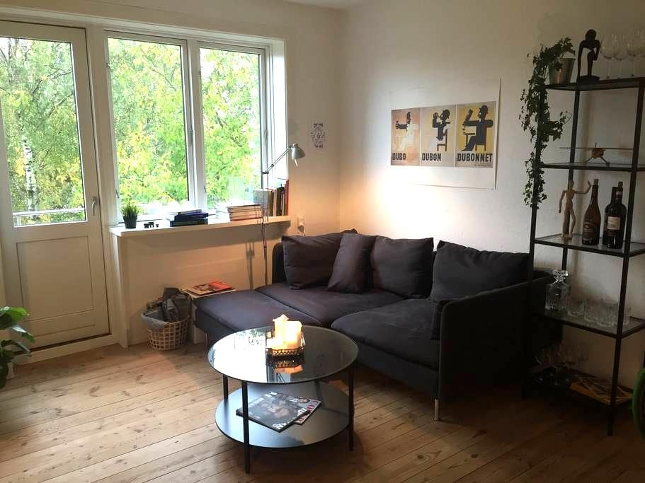 Charming apartment 7 mins away from central CPH - København - Apartment