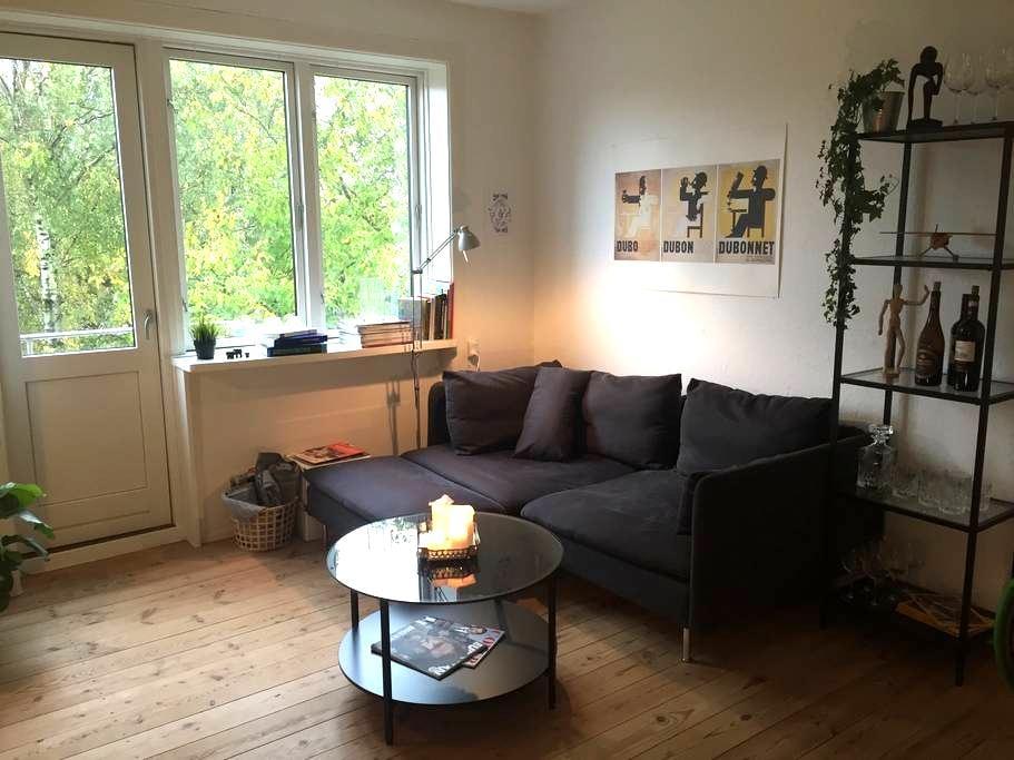 Charming apartment 7 mins away from central CPH - Copenhague - Apartamento