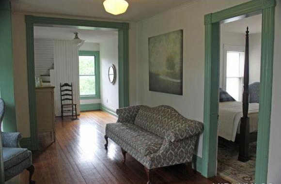 Contemporary Room in Historic House