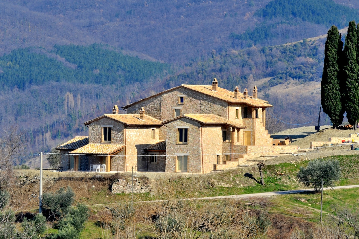 Newly renovated house near Assisi