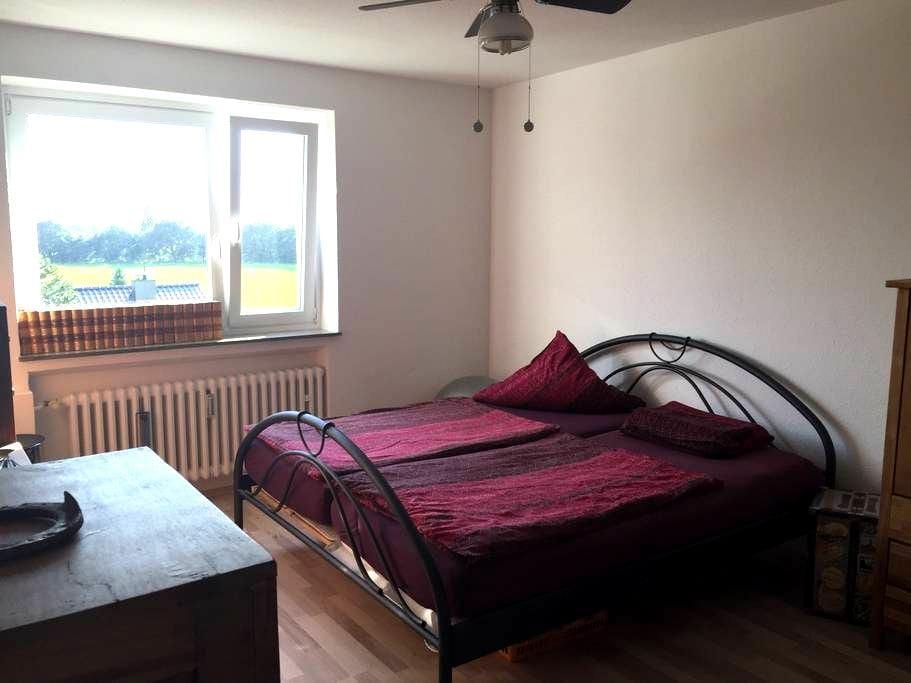 2 gemütliche Zimmer mit gemeinsamer Badnutzung - Viersen - Apartemen