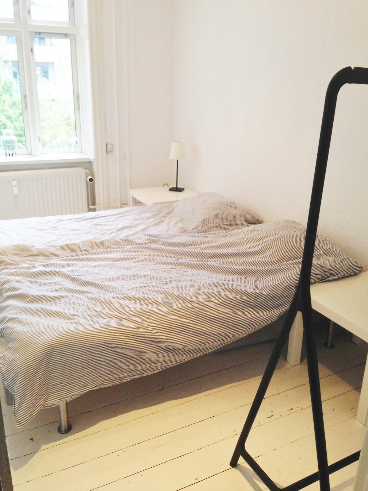 Lyst værelse på Christianshavn