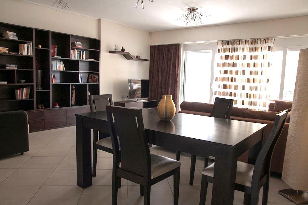 Modern apartment 90m2 near the sea - Pireas - 公寓