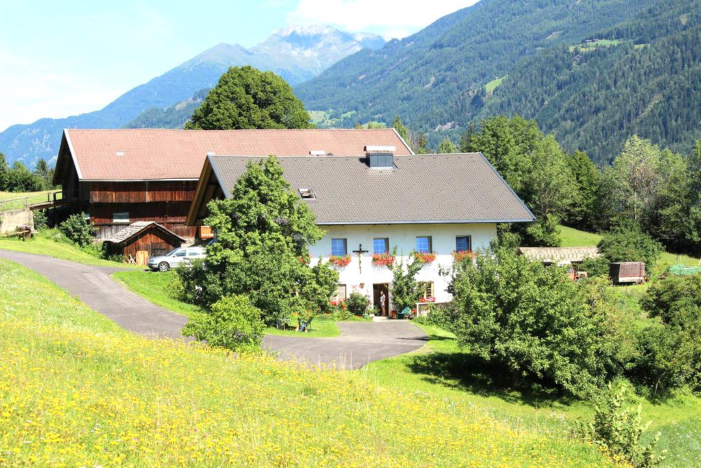Farm Stay in Eastern Tyrol - Schlaiten