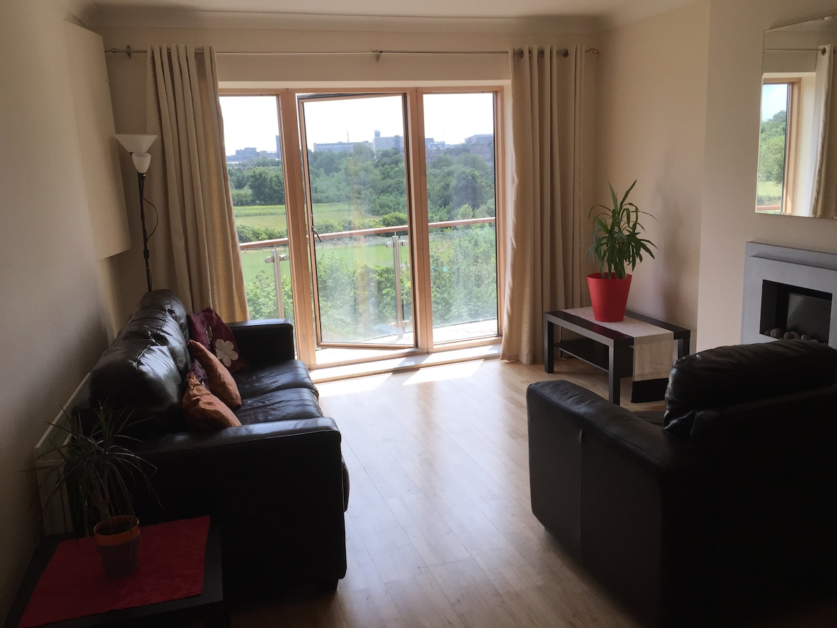 2 bed Dundrum apartment on Luas