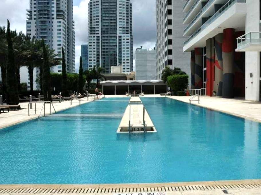 ESPECTACULAR BAYVIEW LOFT IN DOWNTOWN MIAMI - Miami - Loft