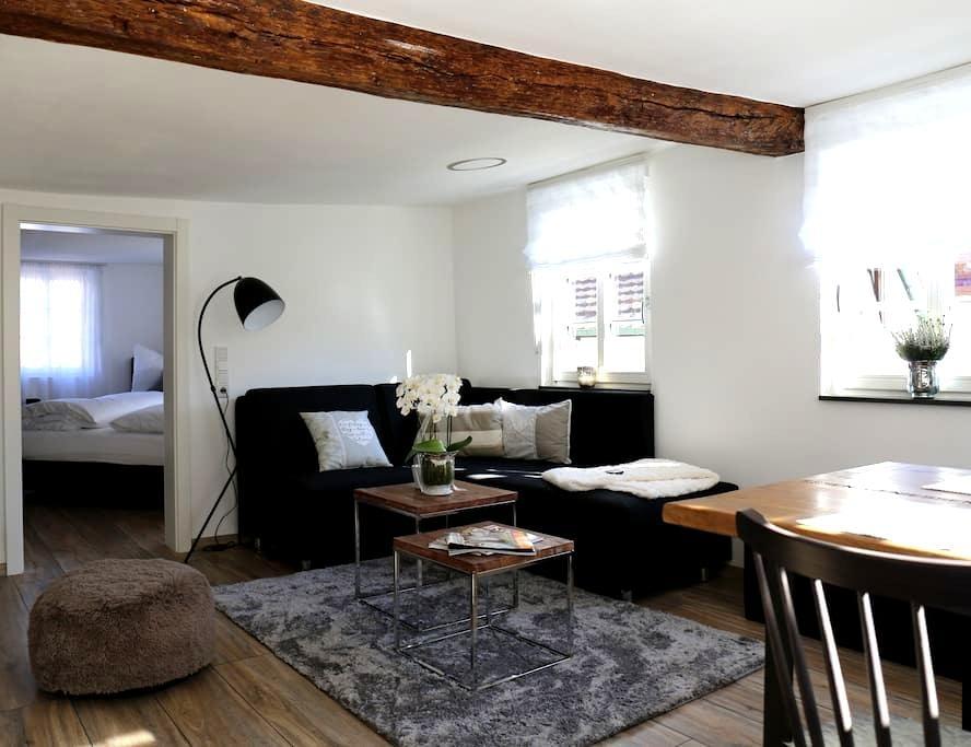 Wohnung Tuchereck im kernsanierten Fachwerkhaus - Michelstadt