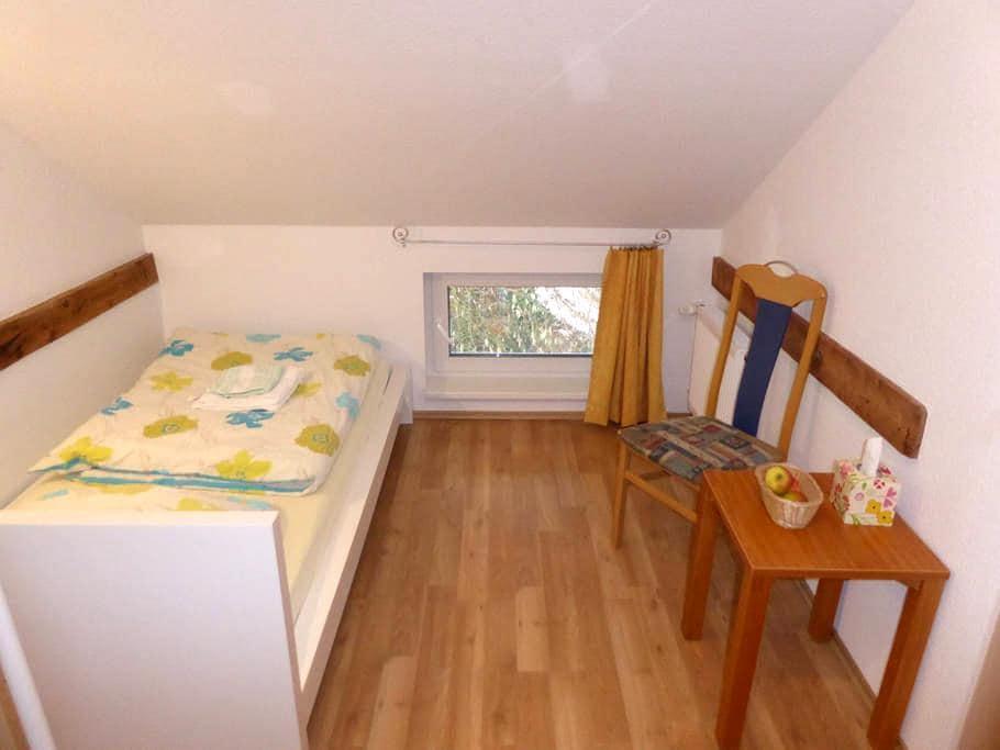 Unterkunft im Stile einer Herberge, Zimmer 5 - Edingen-Neckarhausen - Rumah