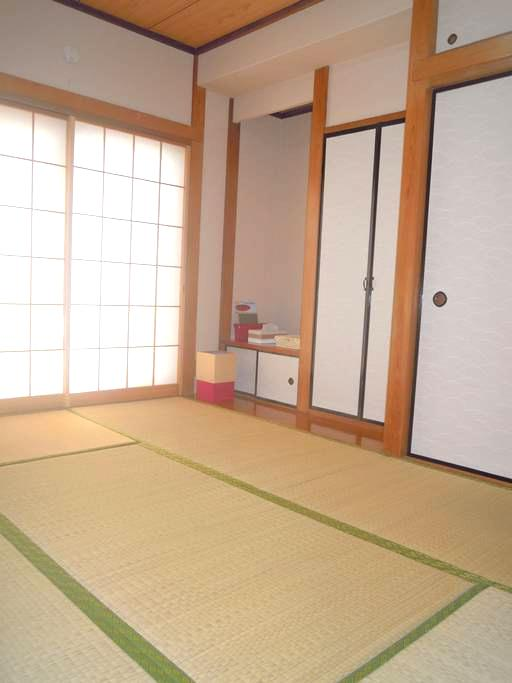 Traditional room of Japan! - Itabashi-ku - Casa