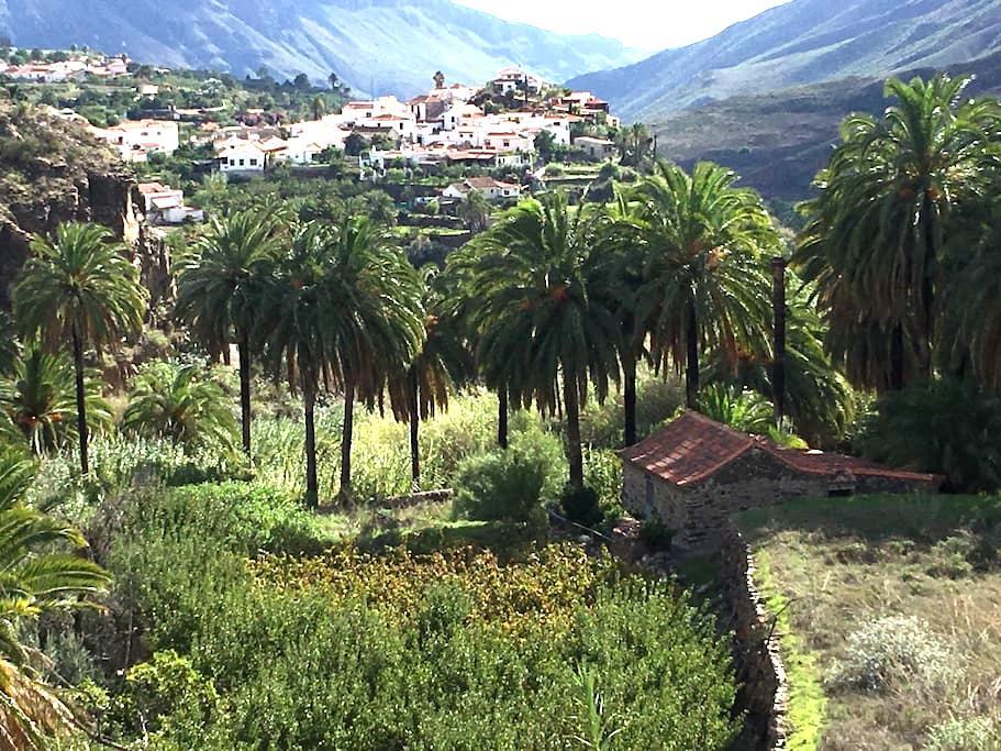 The oasis little house at Ecotara Canary Islands - Fataga - Dom