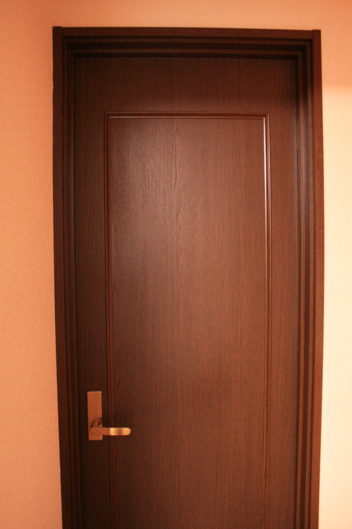 Your room's door from outside