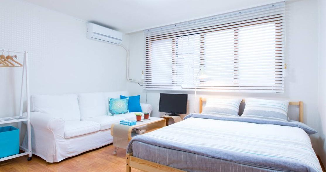 COMFY QUIET, Cozy 2BR in Hongdae
