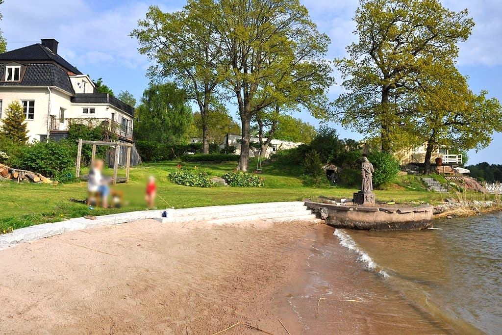 villa beachfront Stockholm - Danderyd - House
