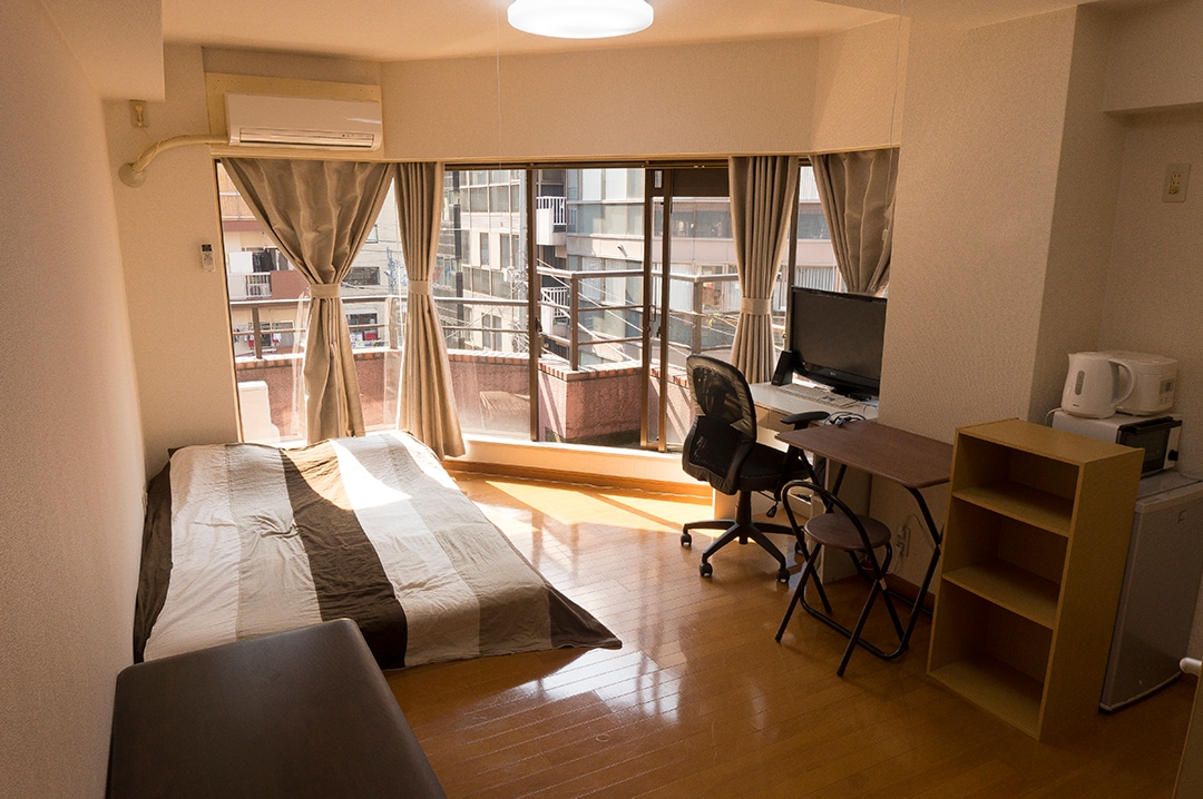 Studio appartment with a terrace