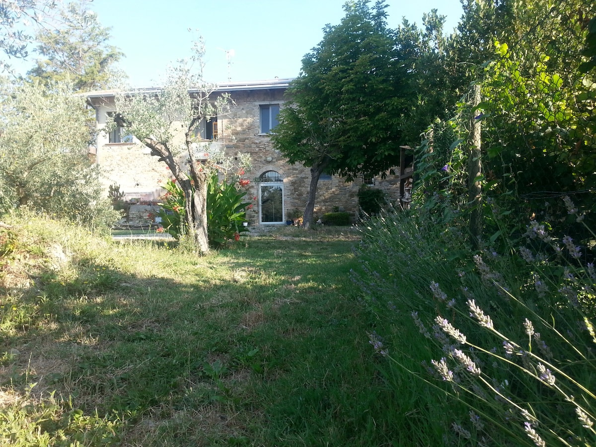 Flat on a farm not far from Assisi