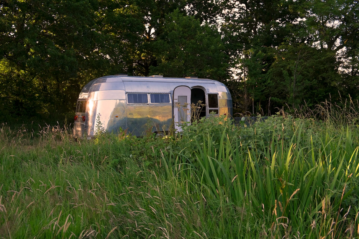 1949  Airstream in Wilts/ Glos