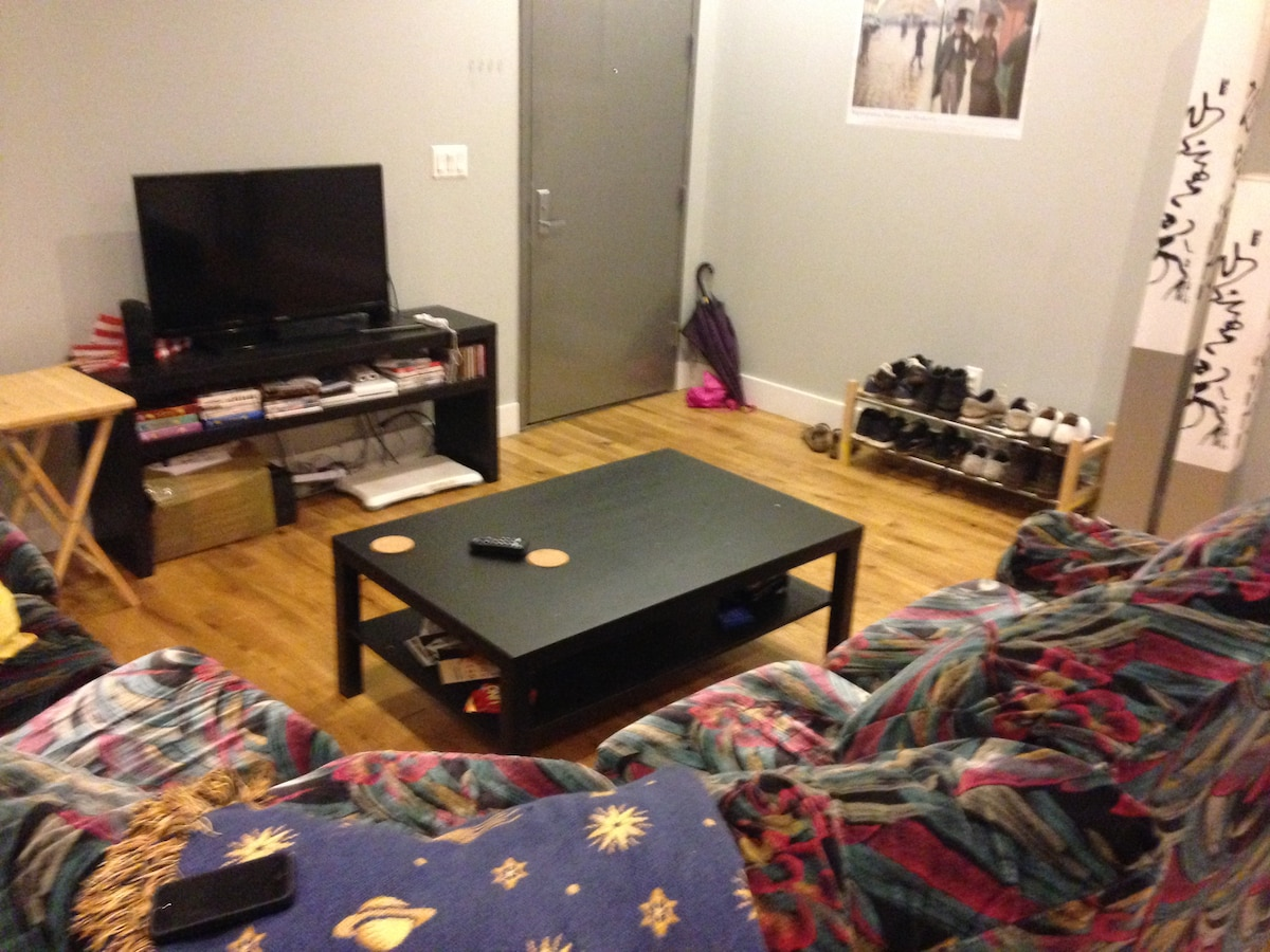 2nd bedroom in spacious apartment