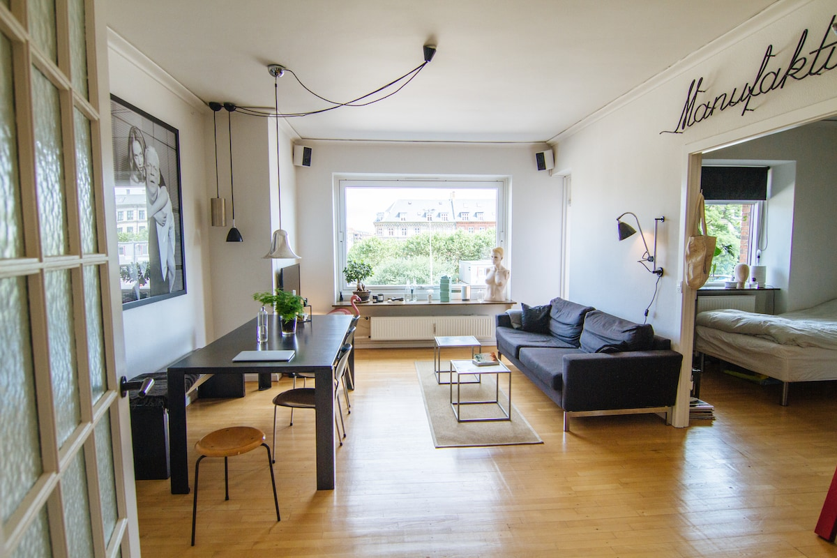 Lovely flat in central Copenhagen