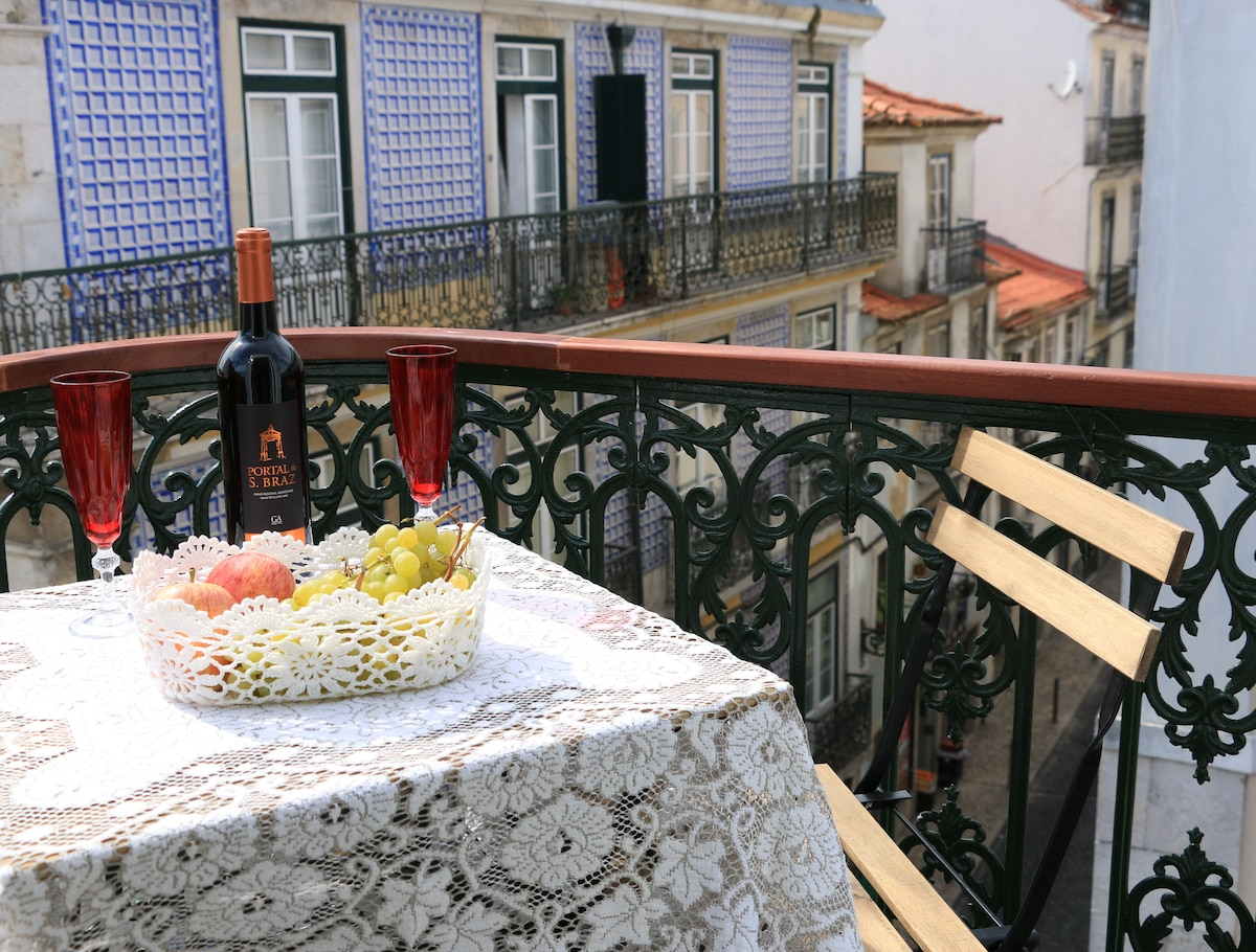 Bairro Alto with a View