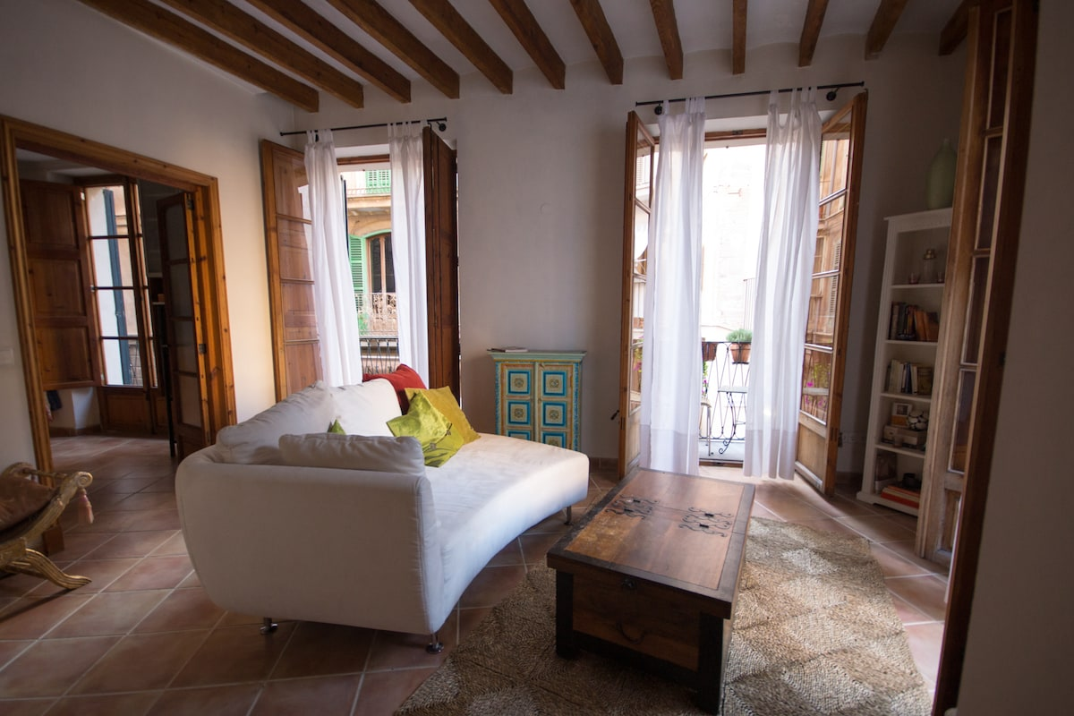 Cosy Double Bedroom Downtown Palma