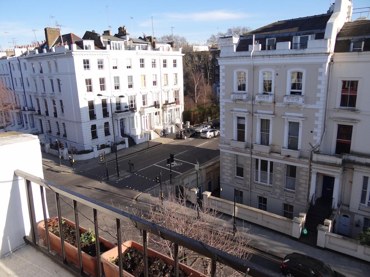 #1 Notting Hill Cozy Terrace Flat