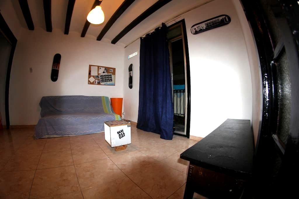 Skateboard House - Side of Macba - Barcelone - Appartement