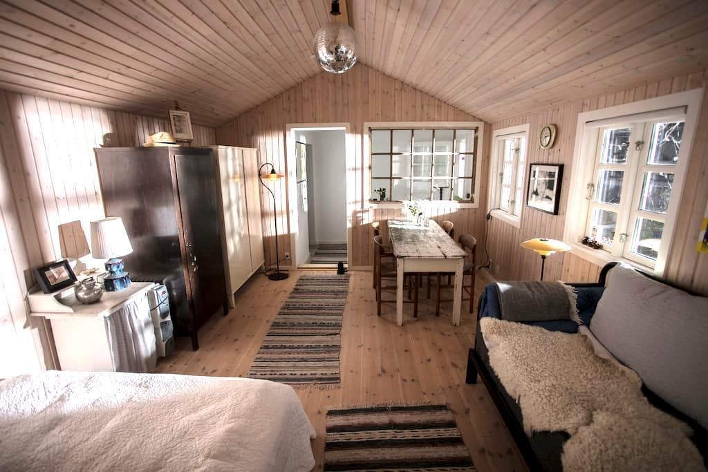 The cosy guesthouse in the woods - Charlottenlund - Huis