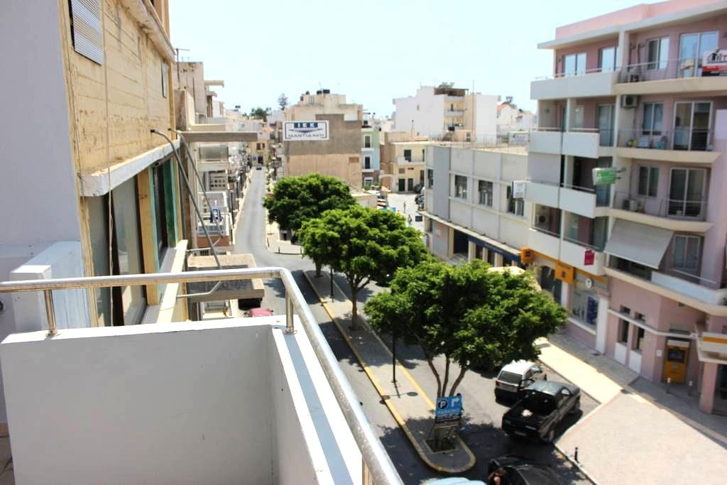 Central apartment 100m from seaside of Ierapetra - Ierapetra - Квартира