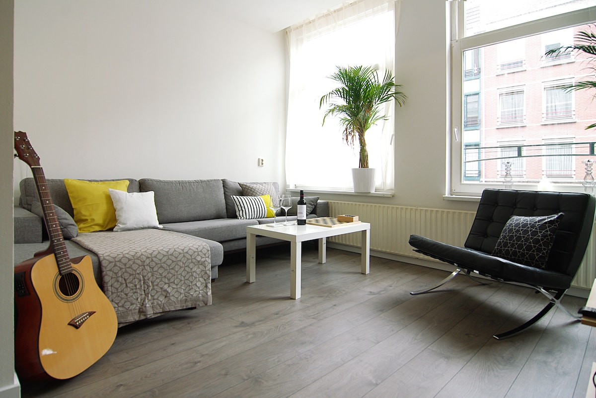 Cozy apt with balcony, Jordaan area
