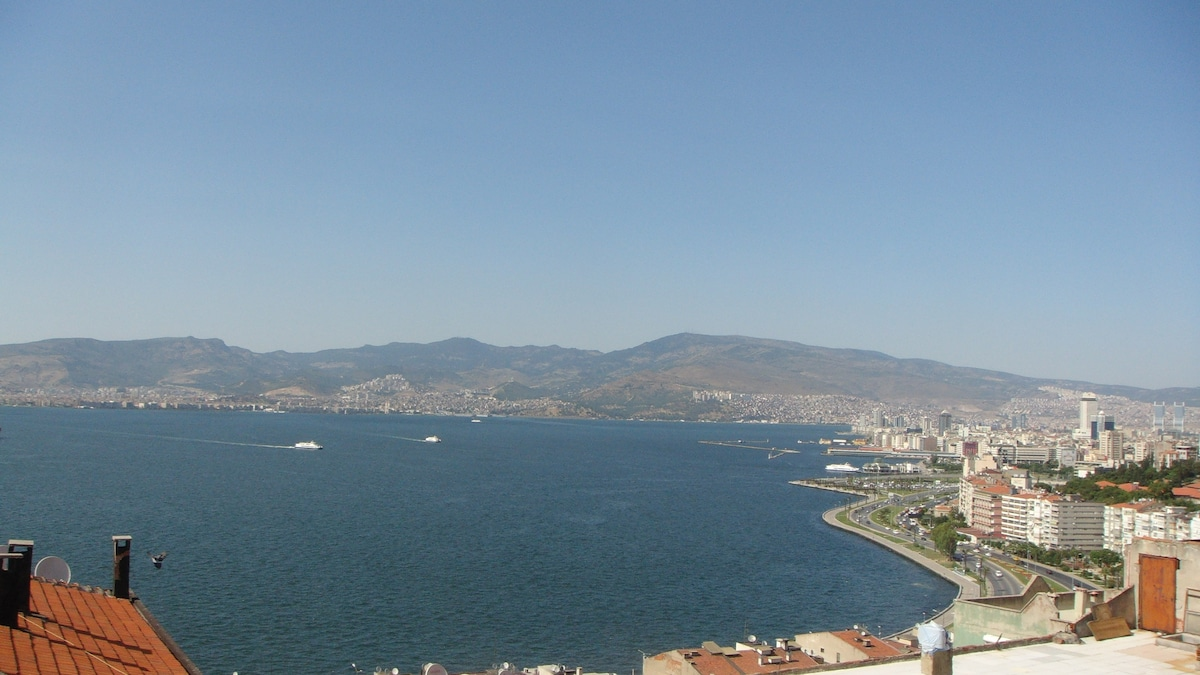 Gulf views, private room in İzmir