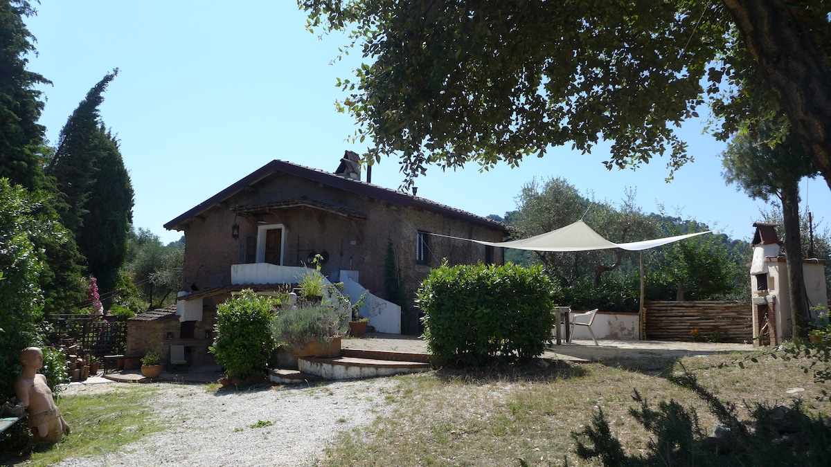 Welcome at Artist's house! Quiet, green all around, artistic ambiance next to sea, culture and tuscan jewels!