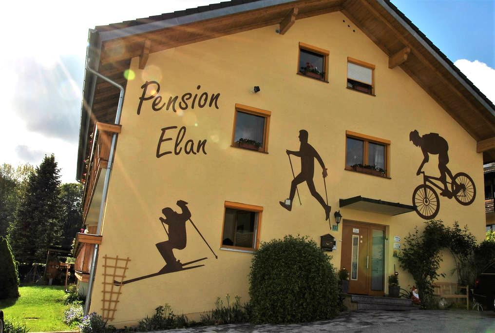 Pension Elan,die mit der Alles inklusive aktivCARD - Bayerisch Eisenstein - Penzion (B&B)