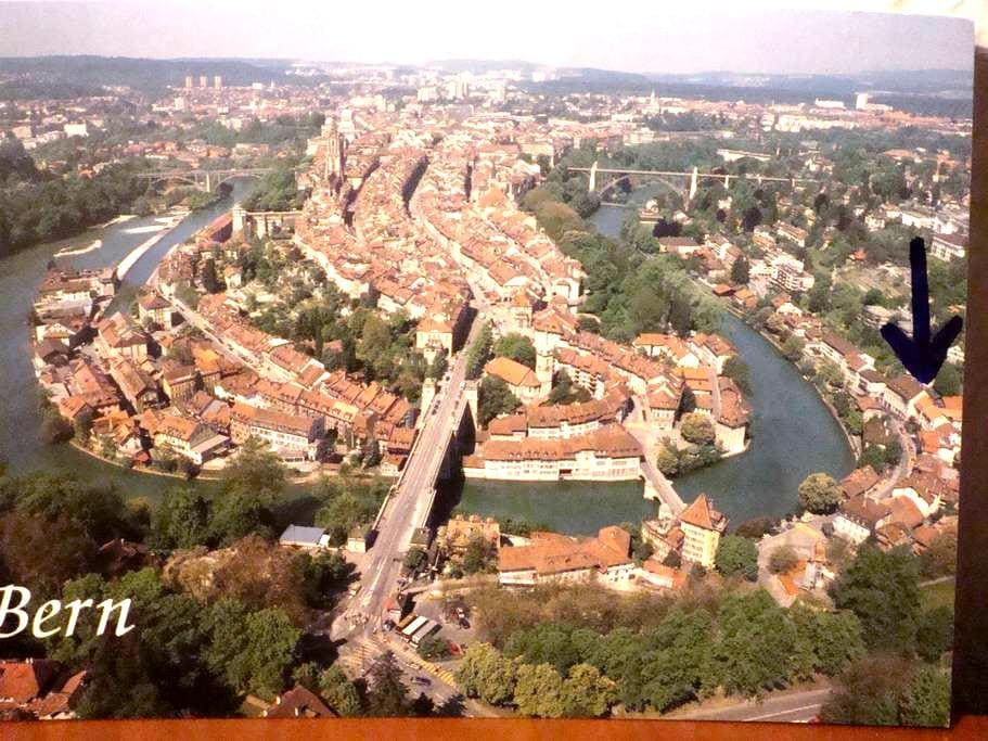 Prime location in Bern by the river - Bern - Wohnung