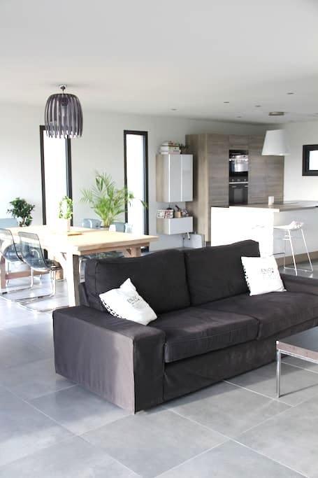 Maison d'architecte moderne design - Melesse - Rumah