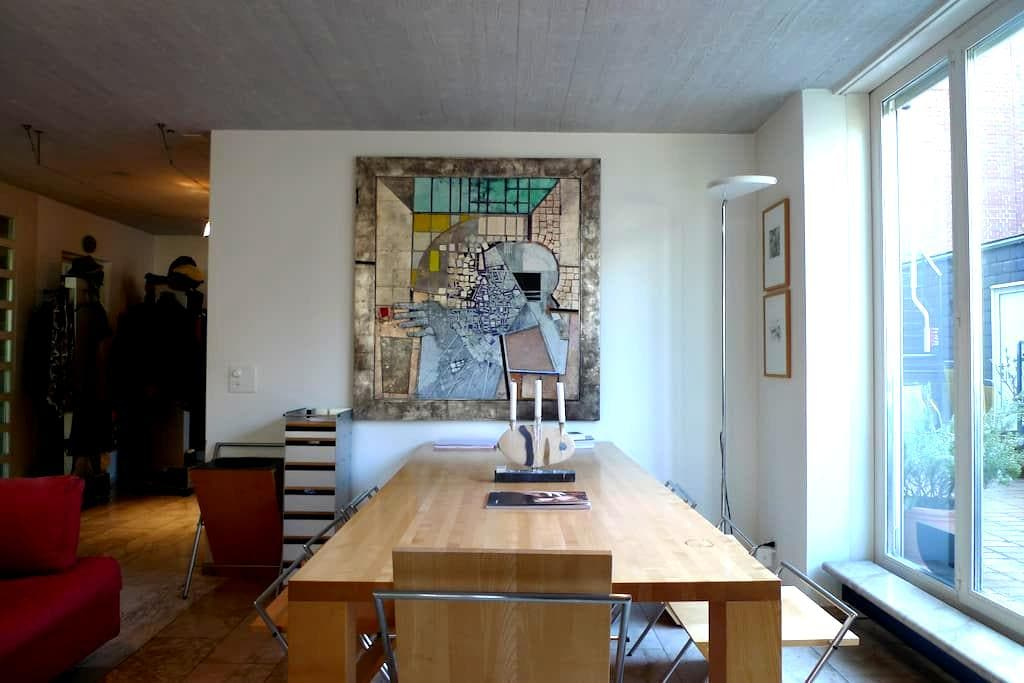 Charming Maisonette in Zurich City for 4 people - Curych - Byt