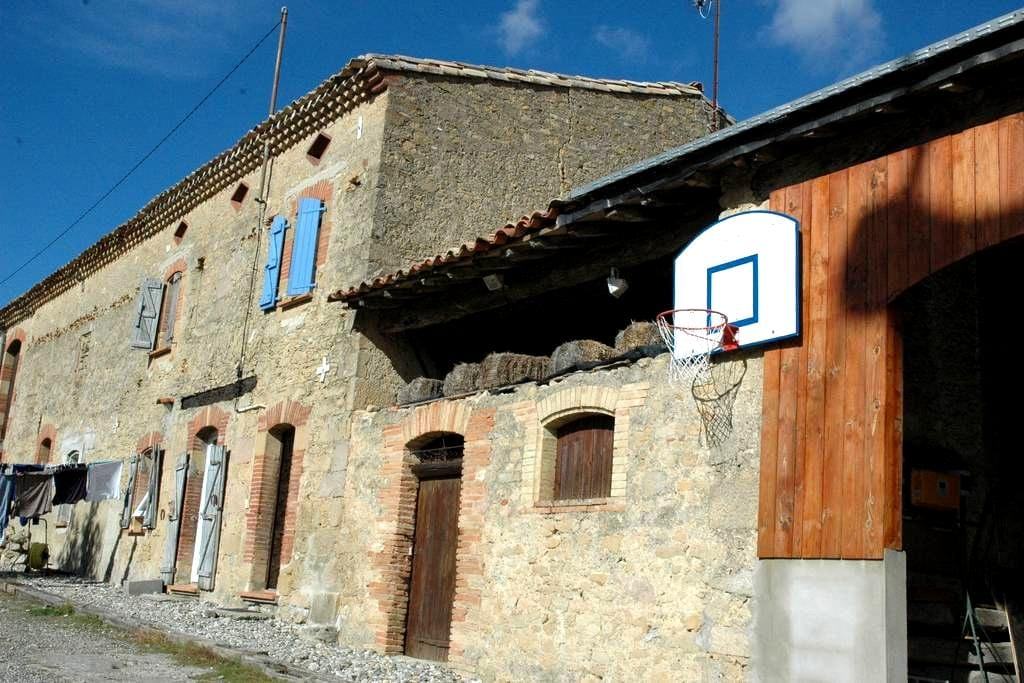 Chambre meublée au 1er étage - Avignonet-Lauragais - Huis
