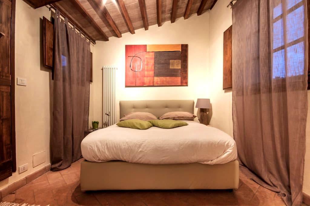 Tranquilla dependance in paese - Montefollonico - Hus