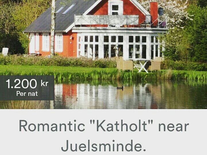 """If you want to rent all house as summer house, please go to this profile, by checking out houses near the town Juelsminde. Then look for this profile: """"Romantic """"Katholt"""" near Juelsminde."""""""