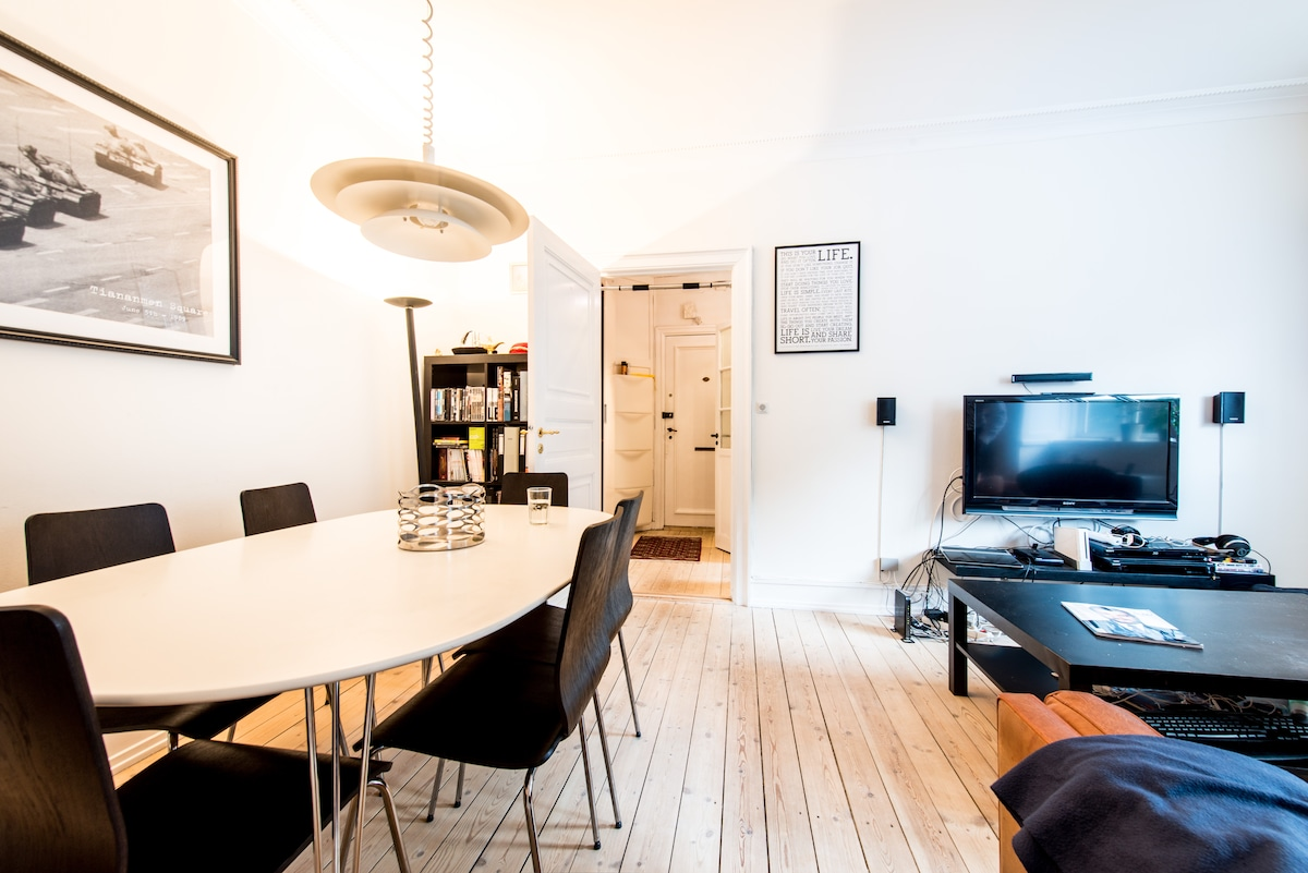 Great apartment in Central CPH