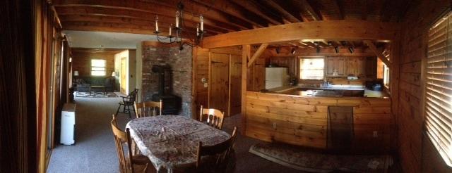 Log Cabin on Lake Winnipesaukee