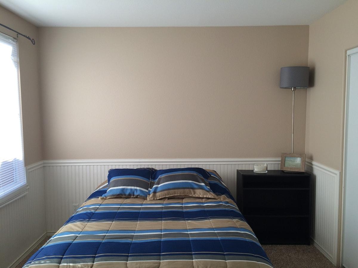 Clean & comfy private room & bath